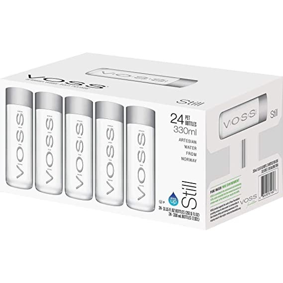 Agua Voss sin gas PET 330ml - Caja de 24 unidades 24 x 330 ml