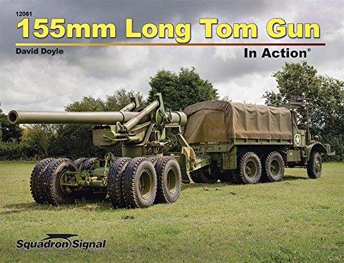 155mm Long Tom Gun in Action