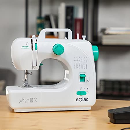 Solac SW8230 Cotton 16.0 Máquina de Coser Mecánica con 16 Puntadas ...