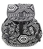Casual Backpack Purse School Bag Canvas Travel Daypack for Girls/Women