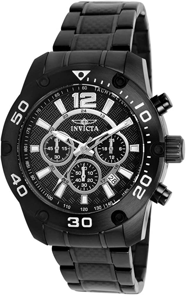 Invicta Men s 21488 Pro Diver Analog Display Japanese Quartz Black Watch