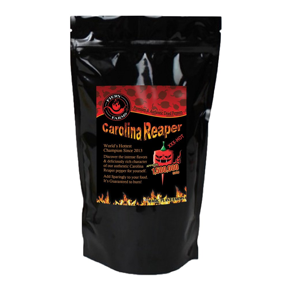 Carolina Reaper Pepper Powder | Extremely Hot Ground Carolina Reaper Peppers (4oz)