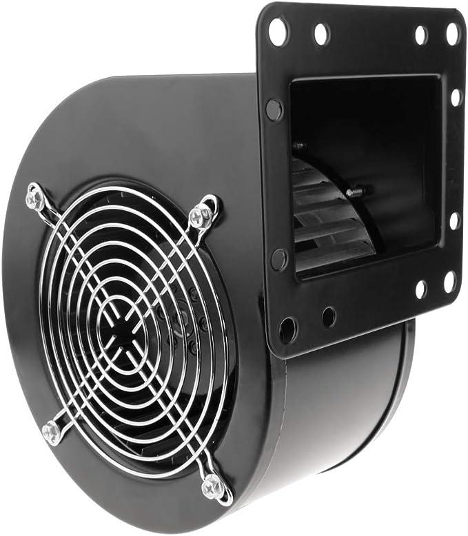 PrimeMatik - Extractor de Aire centrífugo Radial para ventilación Industrial 2560 RPM Cuadrado 220x209x125 mm: Amazon.es: Electrónica