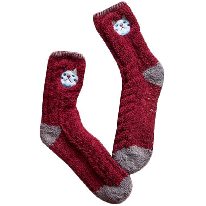 Fuzzy Suaves para Dormir Piso de los Calcetines de la Historieta del Deslizador de los Calcetines