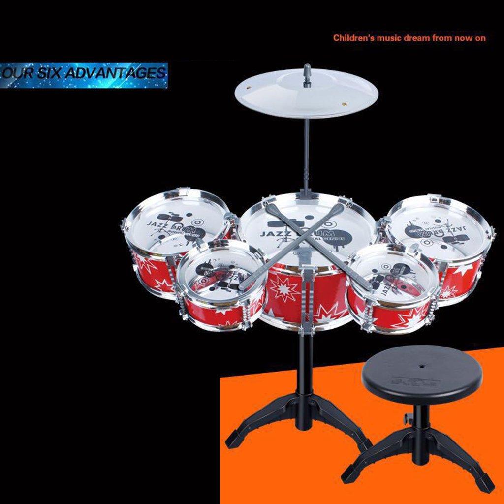 Baoblaze Mini Jazz Band Drum Kits Percussion Instruments Set