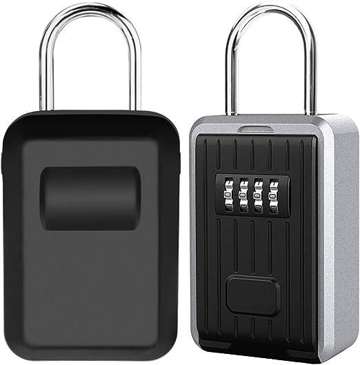 Caja de Seguridad para Llaves, Montaje en Pared Candado Caja ...