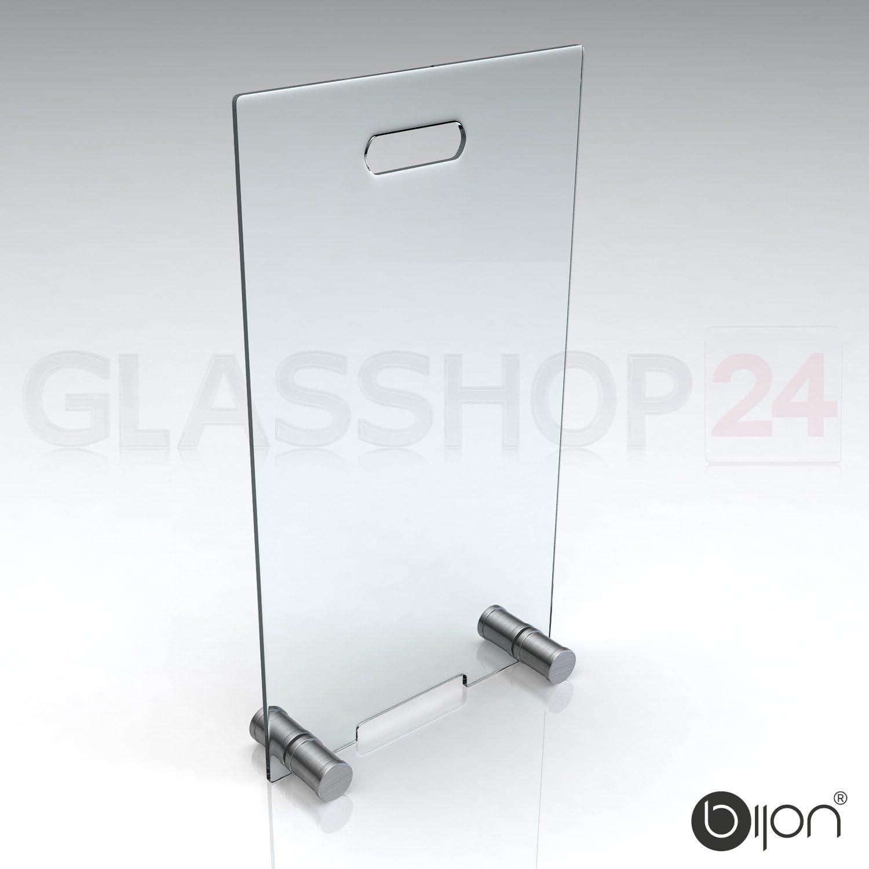 Kamin Ofen Glas Funkenschutzgitter bijon/® Kamin Funkenschutz aus Spezial-Sicherheitsglas HxB 500x300mm