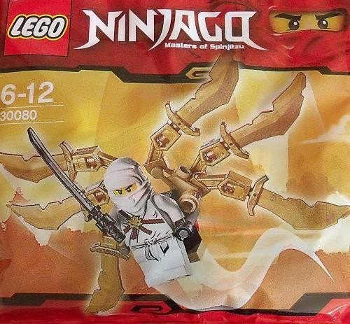 LEGO Ninjago Exclusive Mini Figure Set #30080 Zane Ninja Glider Bagged - Exclusive Mini Figure Set