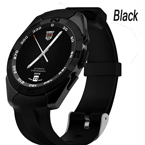 Black Seguimiento De La Aptitud Y Reloj Elegante For Girls , Shengyaohul Smart Health Watch La