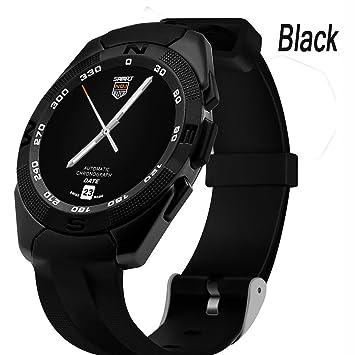 Black Tracker De Actividad Con Reloj Inteligente For Women , Shengyaohul Digital Pedometer Watch La Función Mp3 / Llamada Entrante / Batería Incorporada ...