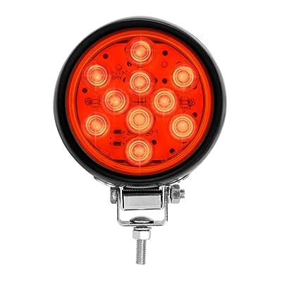 "GG Grand General 76335 Red LED Light (4"" Ruggedized Mega 10: Automotive"