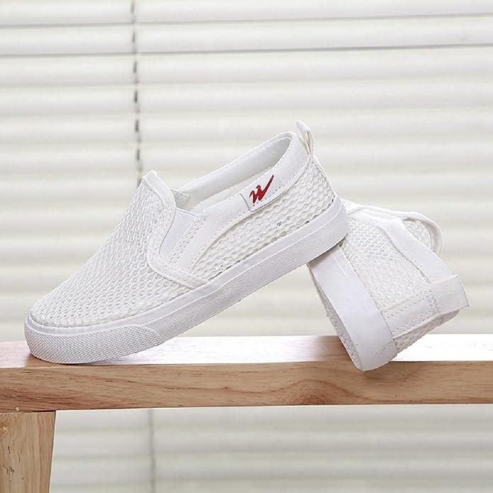 YORWOR estate sneakers respirabili da unisex bambino Size BiancoA237 EU30.5 LaW5TJ7l1