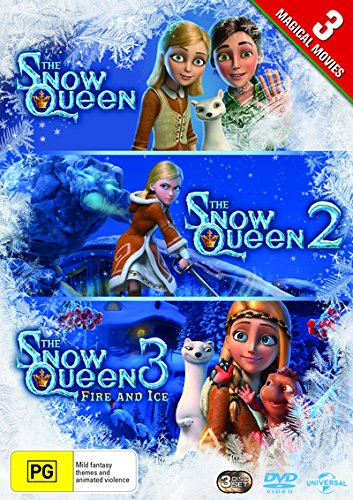 The Snow Queen / The Snow Queen 2 / The Snow Queen 3 | NON-USA Format | PAL | Region 4 Import - Australia