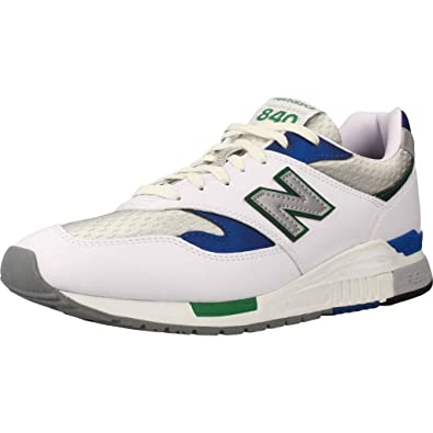 ba586a38c699 New Balance ML 840 ab White Blue Green  Amazon.de  Schuhe   Handtaschen