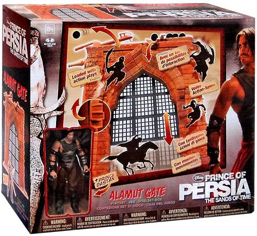 """McFarlane Toys Prince of Persia Deluxe Box Playset - Alamut Gate with 4"""" Dastan Action Figure"""