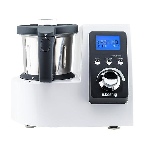 Amazon.De: H.Koenig Hkm1032 Küchenmaschine Mit Kochfunktion