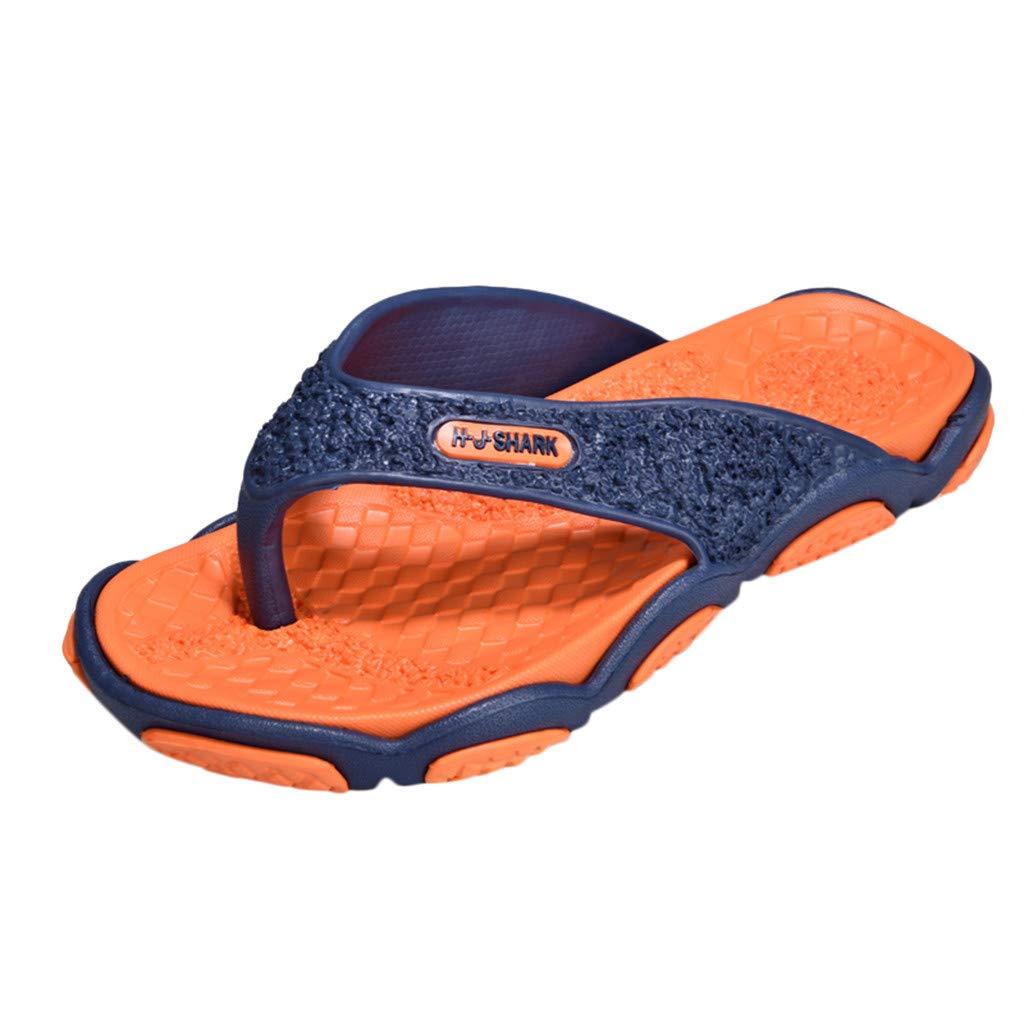 Geetobby Men's and Women's Flip Flop Shower Rubber Sandals Flip Flops Shoes
