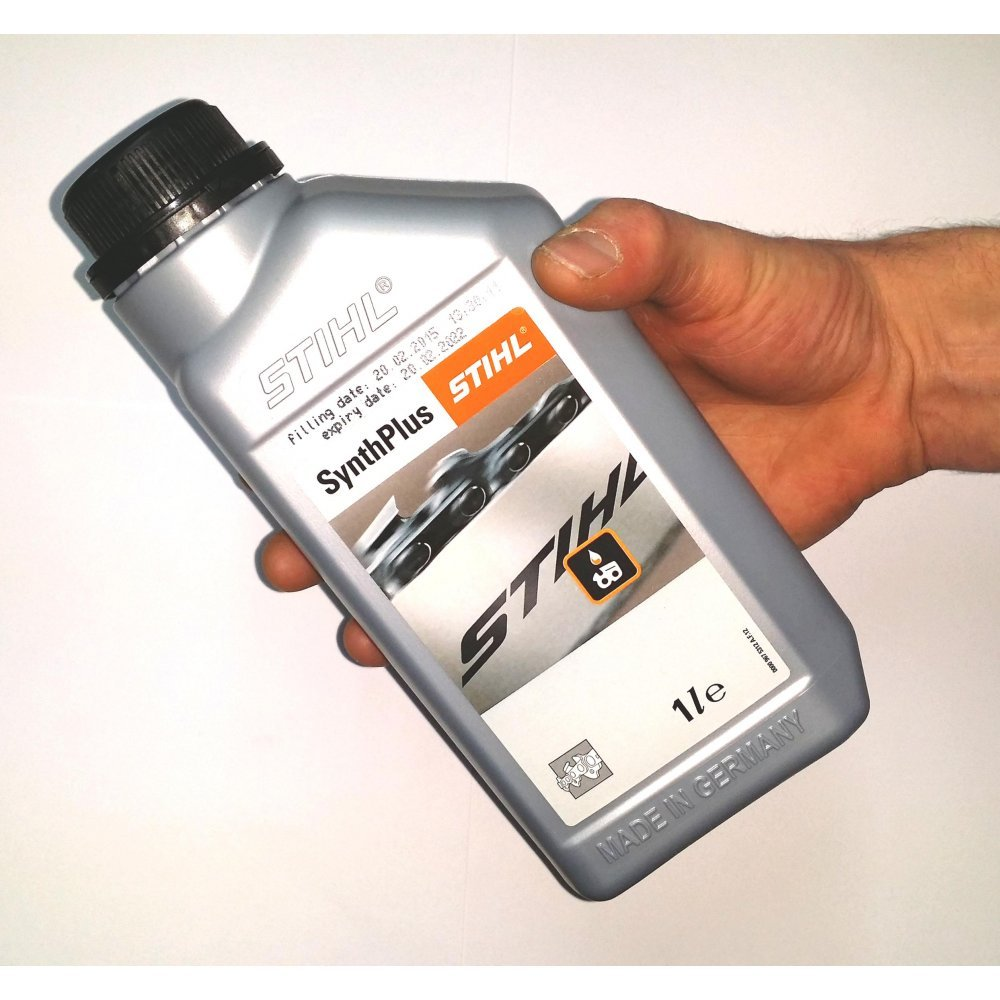 Amazon Stihl Chainsaw Chain Oil 1 Ltr 0781 516 2000 Saw Bar And Garden Outdoor