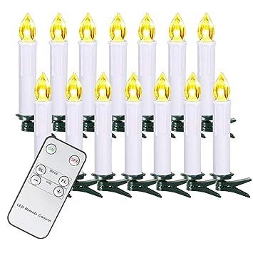 Lichterkette Weihnachtsbaum Kabellos.10 20 30 40 Er Weinachten Led Kerzen Lichterkette Kerzen Weihnachtskerzen Weihnachtsbaum Kerzen Mit Fernbedienung Kabellos Weiss 20er