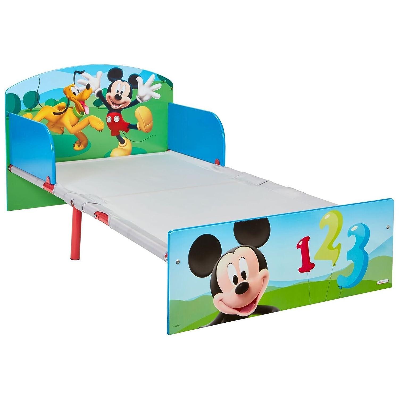 Worlds Apart Micky Maus Bett 140 x 70 cm Kinderbett Kindermöbel ...