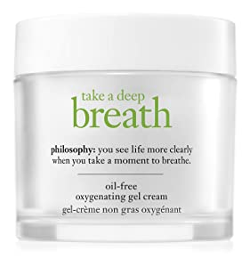 philosophy take a deep breath oil-free oxygenating moisturizer, 2 oz