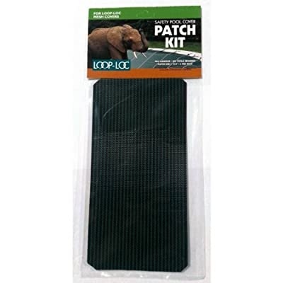 Loop-Loc Safety Cover Patch Kit - Green Mesh: Baby
