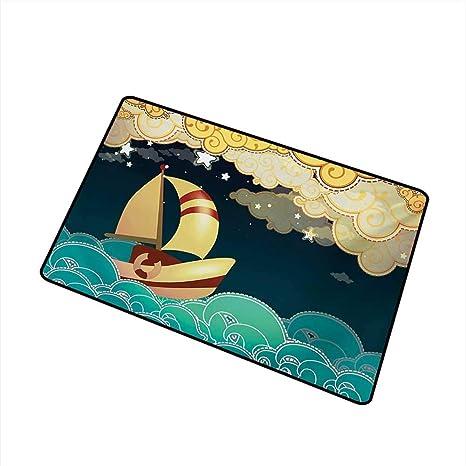Amazon com : Antibacterial Doormat Ship Kids Fairy Tale