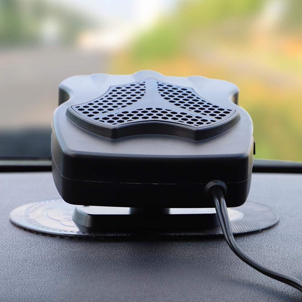 Bogget 12V Portable Silencieux Voiture Chauffage Voiture Ventilateur de Chauffage Chauffage d/ésembuage d/égivrage climatiseur