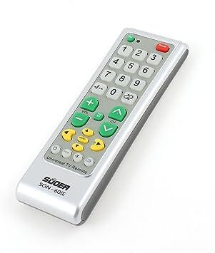 Televisor eléctrico de Control de mando a distancia Universal SON ...