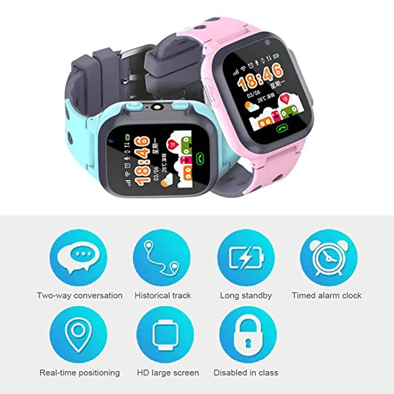 Kids Smart Watch, 2 In 1 Waterproof Kids SmartWatch | Kids ...