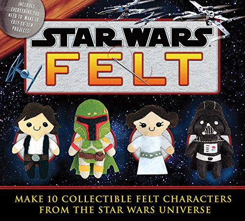 Star Wars Felt Book Make 10 Different Characters from Your Favorite Movie