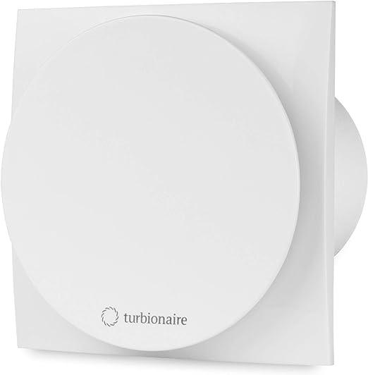 Turbionaire MIO 100 LL-TW con temporizador aspirador 100 milímetros blanco extracción ventilación estándar para baño cocina motor con rodamientos de bola válvula de no retorno protección IPX4: Amazon.es: Hogar