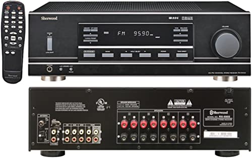 SHERWOOD RX-5502 2Ch 100W Multisource Dual-Zone A V Receiver Consumer Electronics