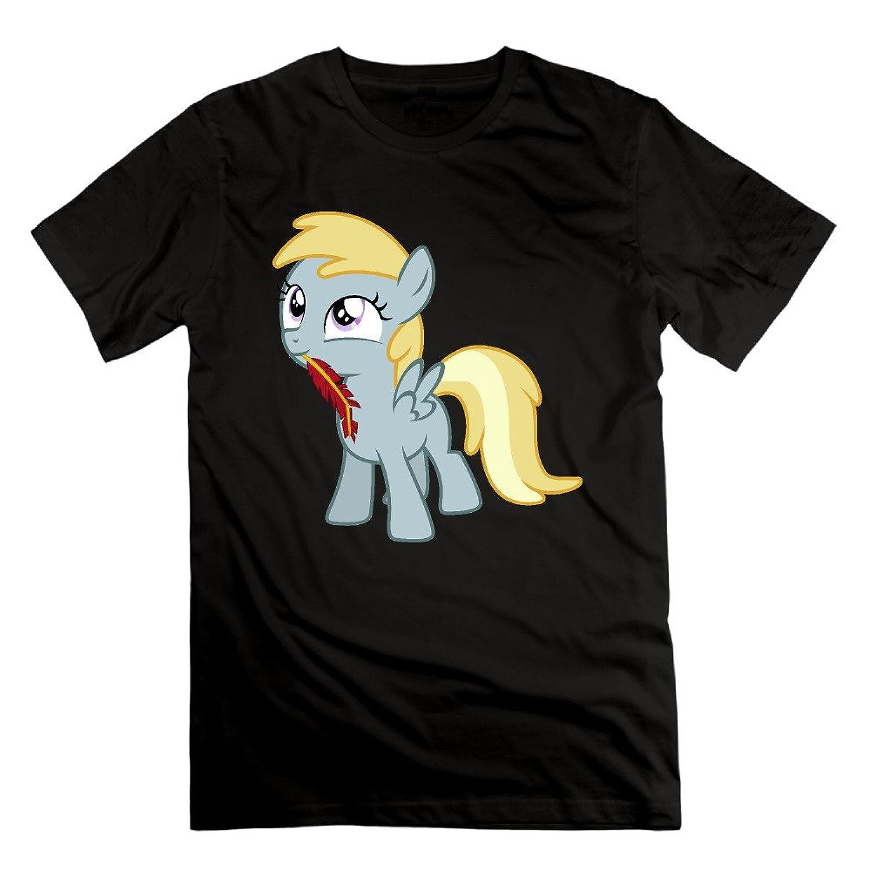 Fashion Men's Blackjack Pony T-shirts Black