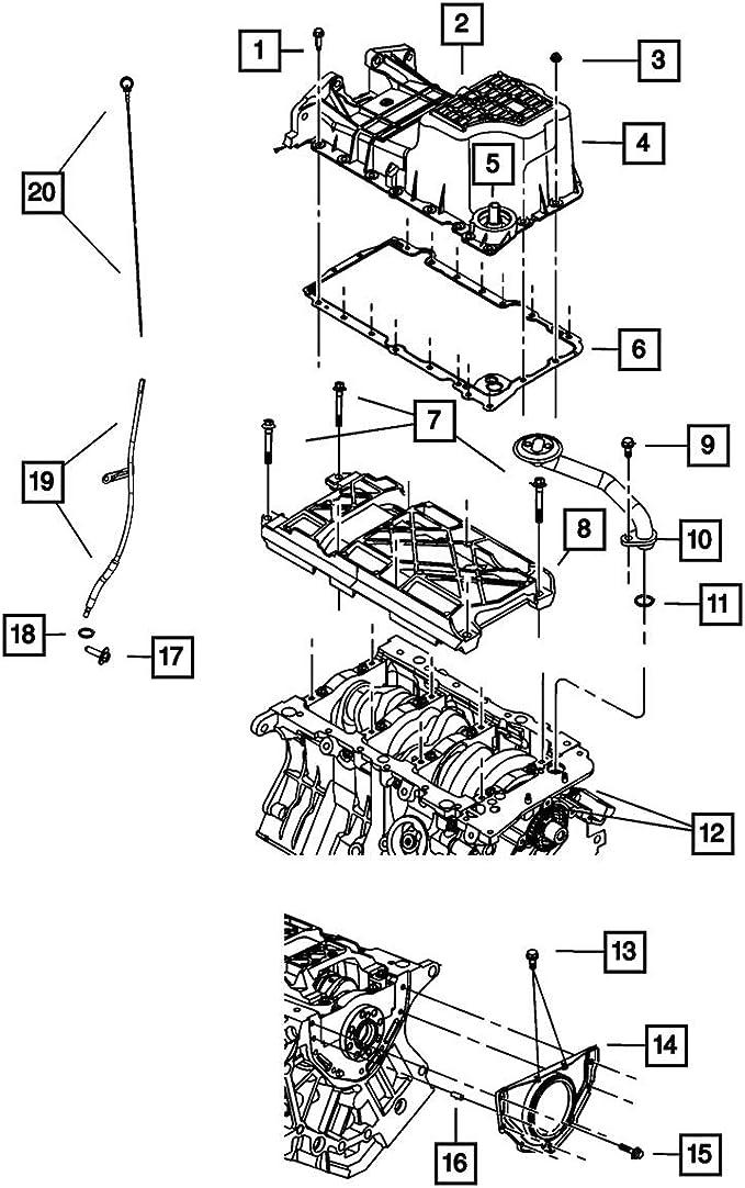 Amazon.com: CHALLENGER CHARGER MAGNUM 300 3.5L 3.5 L ENGINE OIL DIPSTICK  DIP STICK MOPAR OEM: AutomotiveAmazon.com