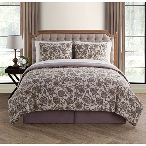 VCNY Home Avon 6 Piece Comforter Set, Twin, - Victoria Gardens Customer Service