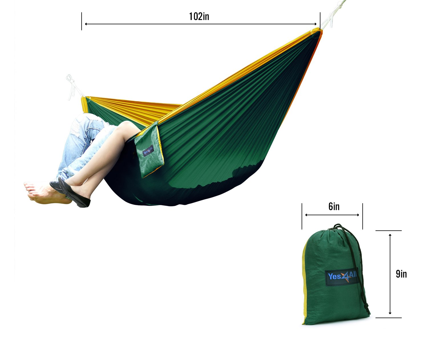 Yes4All Double and Single Hammocks