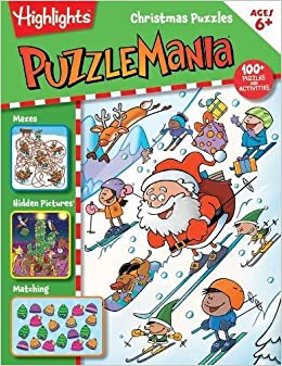 Christmas Puzzles (HighlightsTM Puzzlemania® Activity Books)