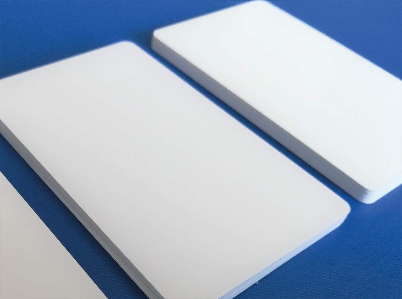 1-500 St/ück 100 Blanko Rohlinge Premium Plastikkarten PVC Karten HELLGRAU NEU!