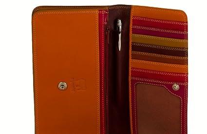 mywalit Medium Matinee Wallet Geldbörse Leder 17 cm berry blast