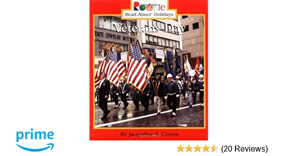 Veterans Day Rookie Read About Holidays Previous Editions