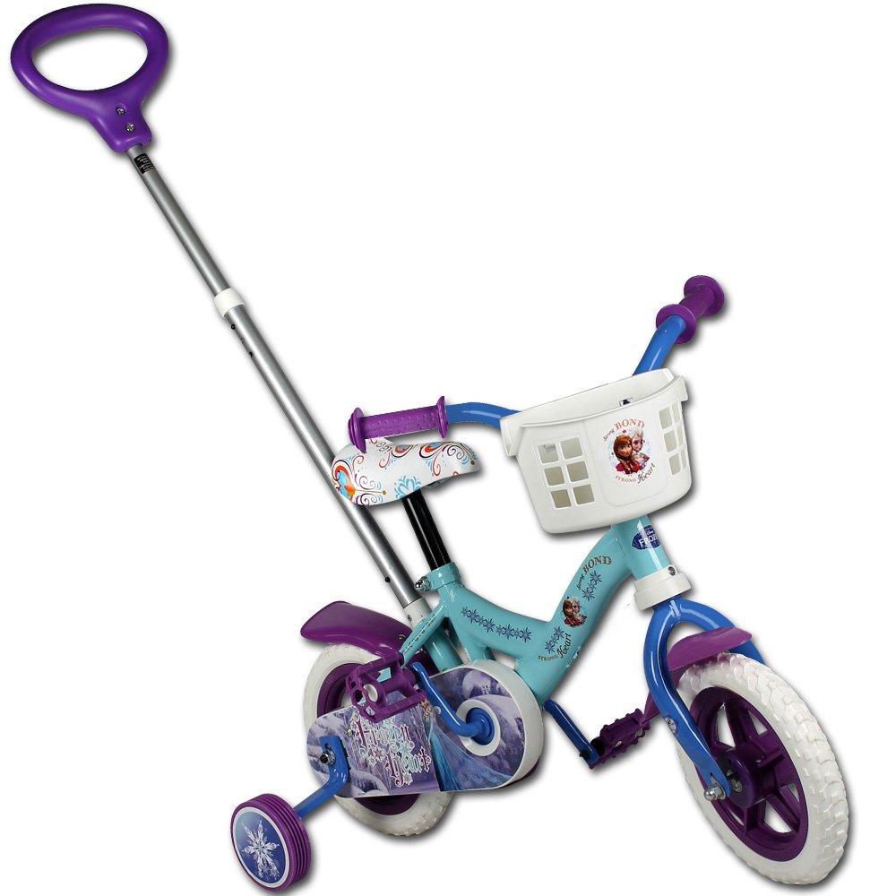 Kinderfahrrad - Fahrrad - Laufrad - 10 Zoll mit Motivauswahl (Frozen)
