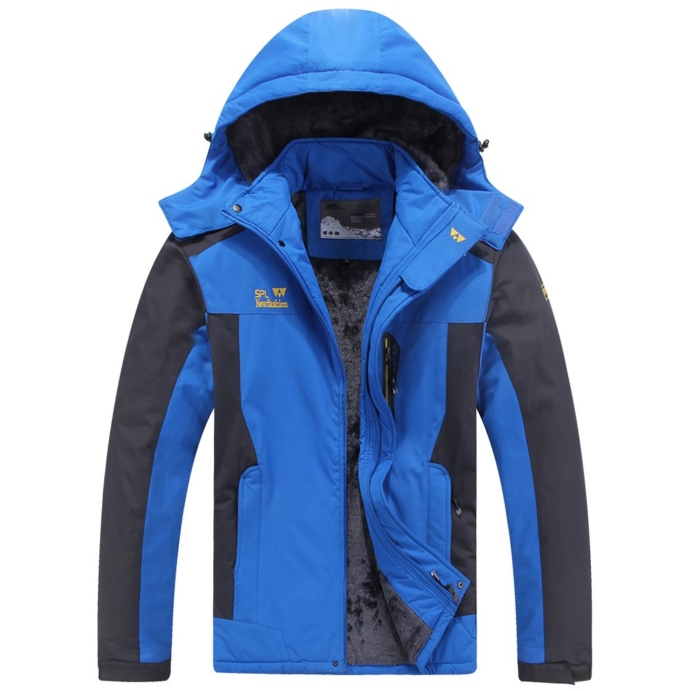Toomett Damen Herren Skijacke Mountain Winter Schnee Wasserdicht Isolierte Fleece Regenmantel