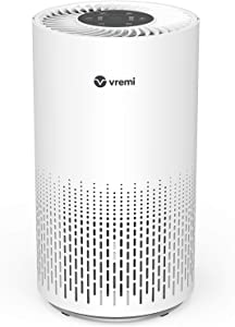 Vremi Large Room Home Air Purifier with True HEPA Filter - Automatically Senses