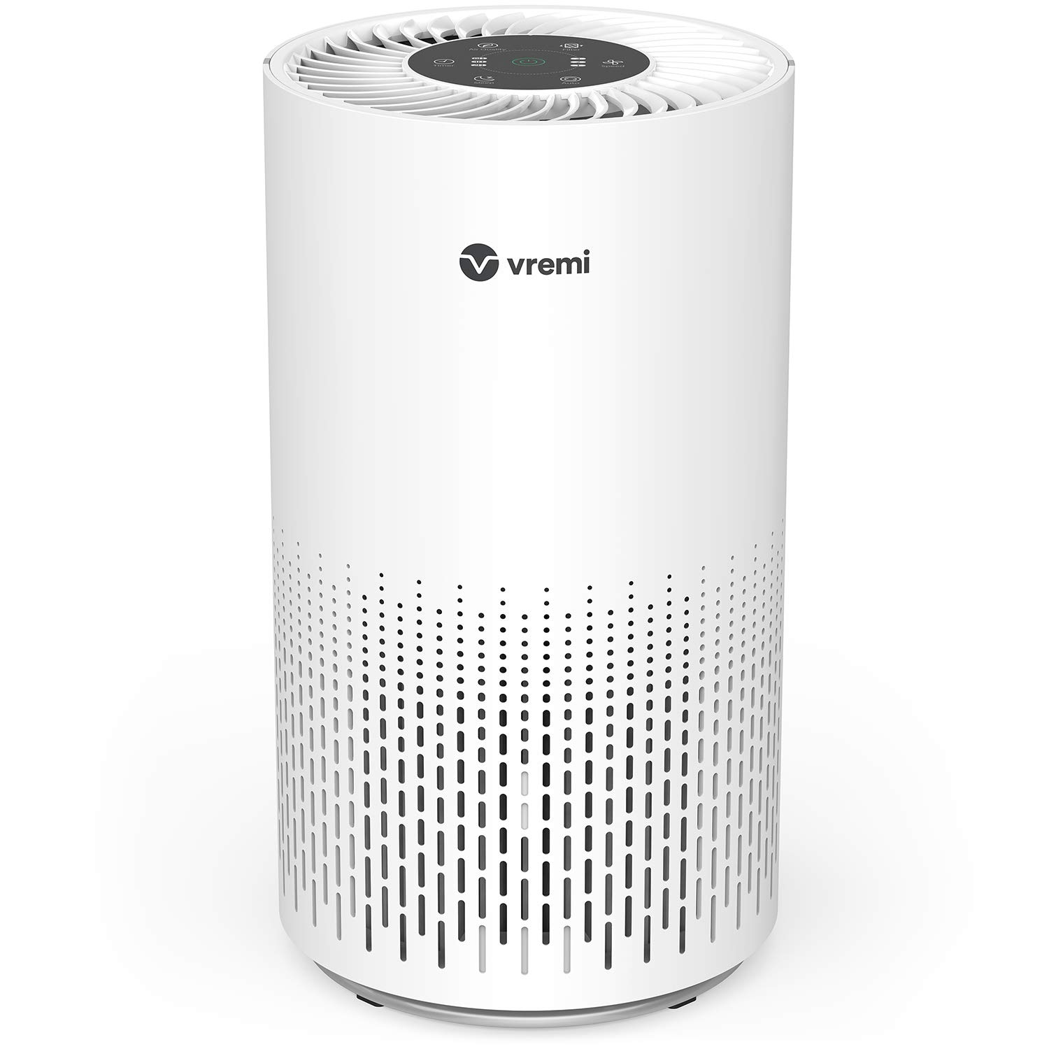 Vremi Large Room Home Air Purifier with True HEPA Filter - Automatically Senses and Removes up to 99.97% of Pollen, Pet Dander, Smoke Odors, Dust and Other Allergens
