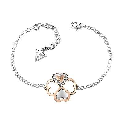 Bracelet GUESS Métal Cristal - Femme - 14.6-18.4 cm  Amazon.fr  Bijoux a892fbd94d9