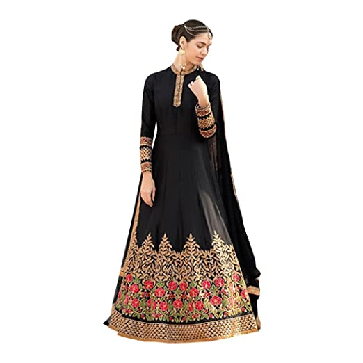 6a08693a2b Image Unavailable. Image not available for. Color: Designer Bollywood Women Floor  Length Anarkali Salwar Suit Custom to Measure Indian Ethnic Wedding ...