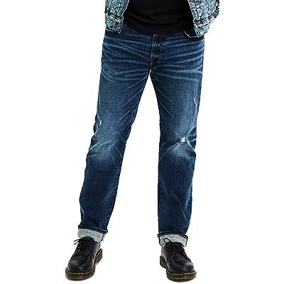 American Eagle Mens 4833832 Ne(X) t Level Slim Straight Jean, Darken Destroy (28x28) at Men's Clothing store