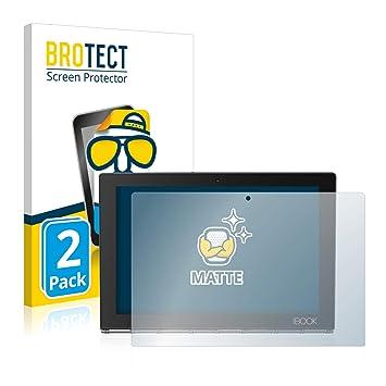 BROTECT Protector Pantalla Mate para Lenovo Yoga Book [2 Unidades] - Anti-Reflejos