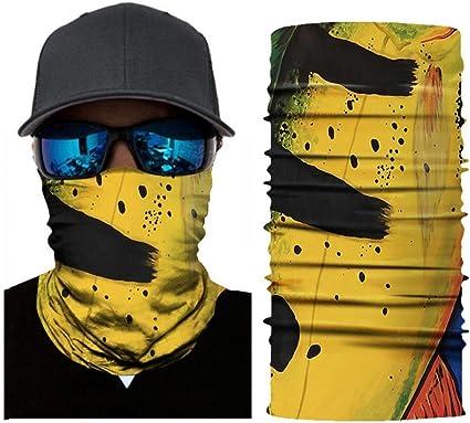 Neck Gaiter Headwear Face Sun Mask Bandana Balaclava for Cycling Fishing